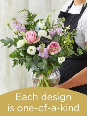 Hand-tied Bouquet and Vase