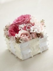 Floral Jewelled Ring Box