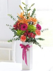 Grandparents' Day Vibrant Vase Arrangement